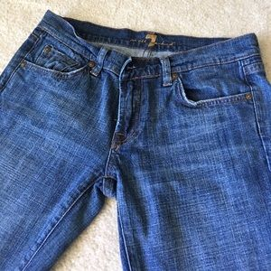 EUC 7 for All Mankind classic boot cut size 28X31